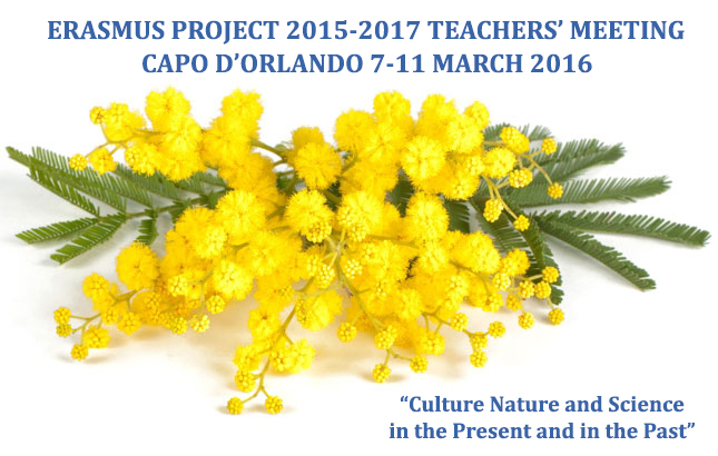 banner Erasmus Project 2015-2017 Teacher's Meetings