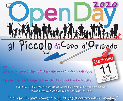 banner open day 2020
